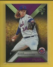 Noah Syndergaard 2016 Topps Triple Threads AMETHYST Card # 35 Mets Baseball MLB