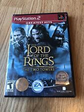 The Lord Of The Rings The Two Towers GH PS2 Sony PlayStation 2 Cib Game H1