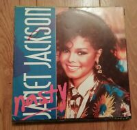 "JANET JACKSON * NASTY * 12"" VINYL 1986 EXCELLENT"