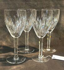Set of 4 Waterford Irish Crystal Carina Claret Wine Glass - Stemware