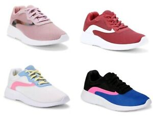 Athletic Works Women's Wide Width WW Memory Foam Athletic Sneakers Shoes: 6-11