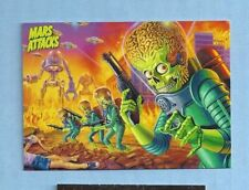 Promo  card -- LOT OF 2  ... Topps ... Mars Attacks ... P1