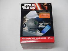Star Wars Estrella De La Muerte USB cargador de coche Thinkgeek Disney Nuevo Sellado GM2274