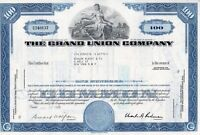 The Grand Union Company Stock Certificate 1969