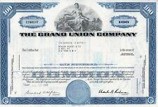 New listing The Grand Union Company Stock Certificate 1969
