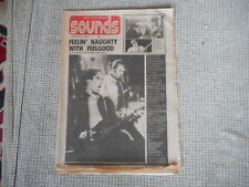 SOUNDS MAGAZINE  UK FEBRUARY 1975 rare  DR. FEELGOOD BOB DYLAN TOM WAITS