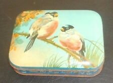 BLUE BIRD TOFFEE Bullfinches Victorian Style HARRY VINCENT LTD Tin ENGLAND Made