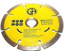 "4"" inch Diamond Saw Blade Segmented for Granite GA DB249"