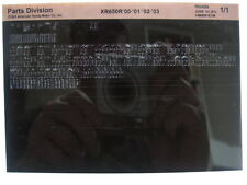 Honda XR650R XR650 2000 2001 2002 2003 Parts List Catalog Microfiche a375