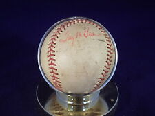 1971 New York Mets Pitchers Signed/Autographed Official Baseball-Tug McGraw