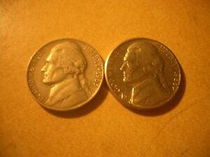 USA COINS X 2 1x1963 5 cents 1x1986 x5 cents