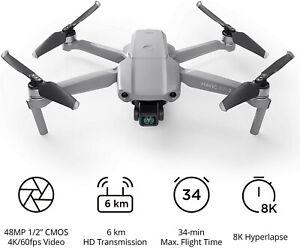 DJI Mavic Air 2 - 48mp Photo - 4K 60fpm Video Quadcopter Drone