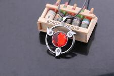 Anime Naruto Sharingan Necklace Uchiha Sasuke Cosplay Metal Pendant Gift