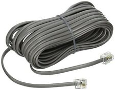 NEW 25' Silver Satin 4 Pin Line Cord for Avaya Nortel Norstar Meridian phone