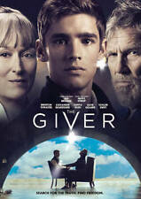 THE GIVER WIDESCREEN DVD MOVIE MERYL STREEP JEFF BRIDGES TAYLOR SWIFT FREE SHIP