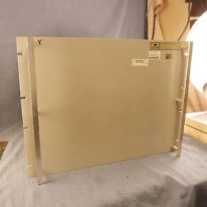 "Collins Radio Equipment 19"" Rack Cabinet 14.5"" x 18"" x 14"" Panel & Wrap"