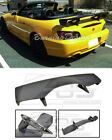 For 00-09 Honda S2000 BLACK Rear Trunk Lid ABS Plastic Wing Spoiler CR Style New