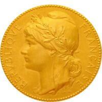 L5508 Médaille Marianne Lechevrel Mr Touche Conseille Arrondissement Doré -> F O