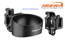 Bicycle Bike Cycling Handlebar Mounted Cup Holder CupClamp Black IB-CB1 D