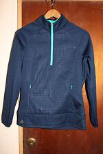 Adidas Golf Breckenridge Colorado Women's Dark Blue Athletic Jacket Size Medium