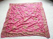 Fine Silk Vintage Indian Scarf