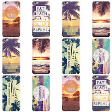 DYEFOR SUMMER PARADISE BEACHES HARD CASE COVER FOR APPLE IPHONE MOBILE PHONES