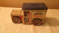 Cherrydale Farms Tin Bank Panel Truck Vintage Advertising Fundraising