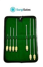 Luer Lock Cannula Set of 7 pieces, Liposuction Cannulas, Care Instrument PREMIUM