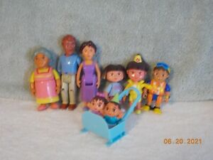 DORA THE EXPLORER 8 FAMILY MEMBERS INCLUDING TWIN BABIES