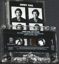 Jimmy Nail Big River CASSETTE ALBUM EastWest 1995 Folk Rock  Pop Rock