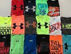 Boy's Youth Under Armour Heat Gear Polyester Shirt