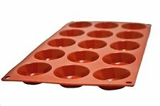 Molde de silicona para hornear, desierto Molde, tartas de 15 piezas