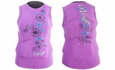 O'Neill Women'S Gooru Padded Vest - Color: Iris - Size: 10 - New!