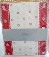 Gisela Graham Christmas Table Runner - Traditional Christmas Table Decoration