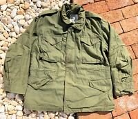 Vintage 70s Alpha Industries 1975 US M-65 Field Jacket Sz Med Short Worn