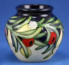 MOORCROFT ANKERWYCKE YEW VASE, LE 21/30, FIRST QUALITY EMMA BOSSONS RRP £345