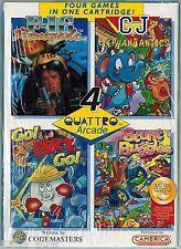 Quattro Arcade (Camerica) (Nintendo NES, 1991) Factory Sealed