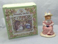 Lovely Royal Doulton Brambly Hedge Mrs Saltapple DBH25 Porcelain Figurine SU1337