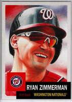 2019 Topps MLB The Living Set #254 Ryan Zimmerman Washington Nationals