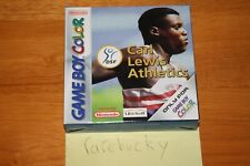 Carl Lewis Athletics 2000 (Gameboy Color) NEW UNUSED, MINT COMPLETE PAL RARE!