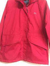 Ladies Trespass Red Coat / Jacker Size L