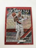 2019-20 Donruss Optic Damian Lillard Tmall Red Wave Prizm Trail Blazers Hot