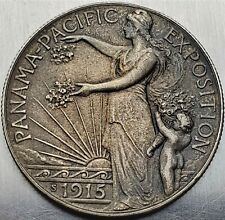 ½ Dollar 1915S Panama-Pacific Exposition Federal Republic Only 27.134 High Grade