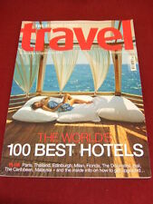 SUNDAY TIMES TRAVEL - WORLDS BEST HOTELS - DEC 2009