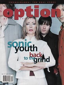 OPTION #79 MARCH APRIL 1998 SONIC YOUTH CHUMBAWAMBA VICTORIA WILLIAMS MARK OLSEN