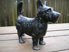 ANTIQUE NATIONAL FOUNDRY SCOTTISH TERRIER DOG HOME ART STATUE DOORSTOP FREE SHIP