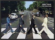 Beatles - Abbey Road 24x36 Wood Framed Poster Art Photo