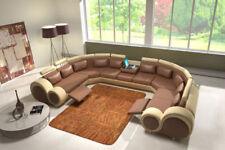 Eck -/Anbau-Sofas aus Leder