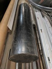 "Delrin - Acetal Plastic Rod 6.25"" Diameter x 36-15/16"" Length - Black Color"