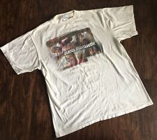 Vtg Original 1996 ALANIS MORISSETTE White T-Shirt Size Large  Q